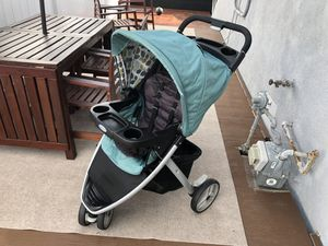 Photo Graco stroller, fast action .