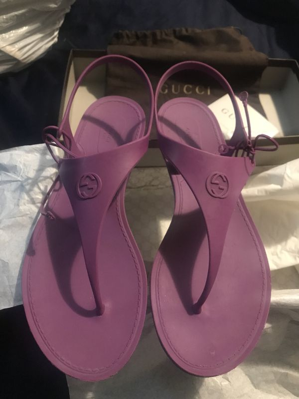 d12cb62c425d Gucci Katina Rubber Sandals 38 (8) for Sale in Powder Springs