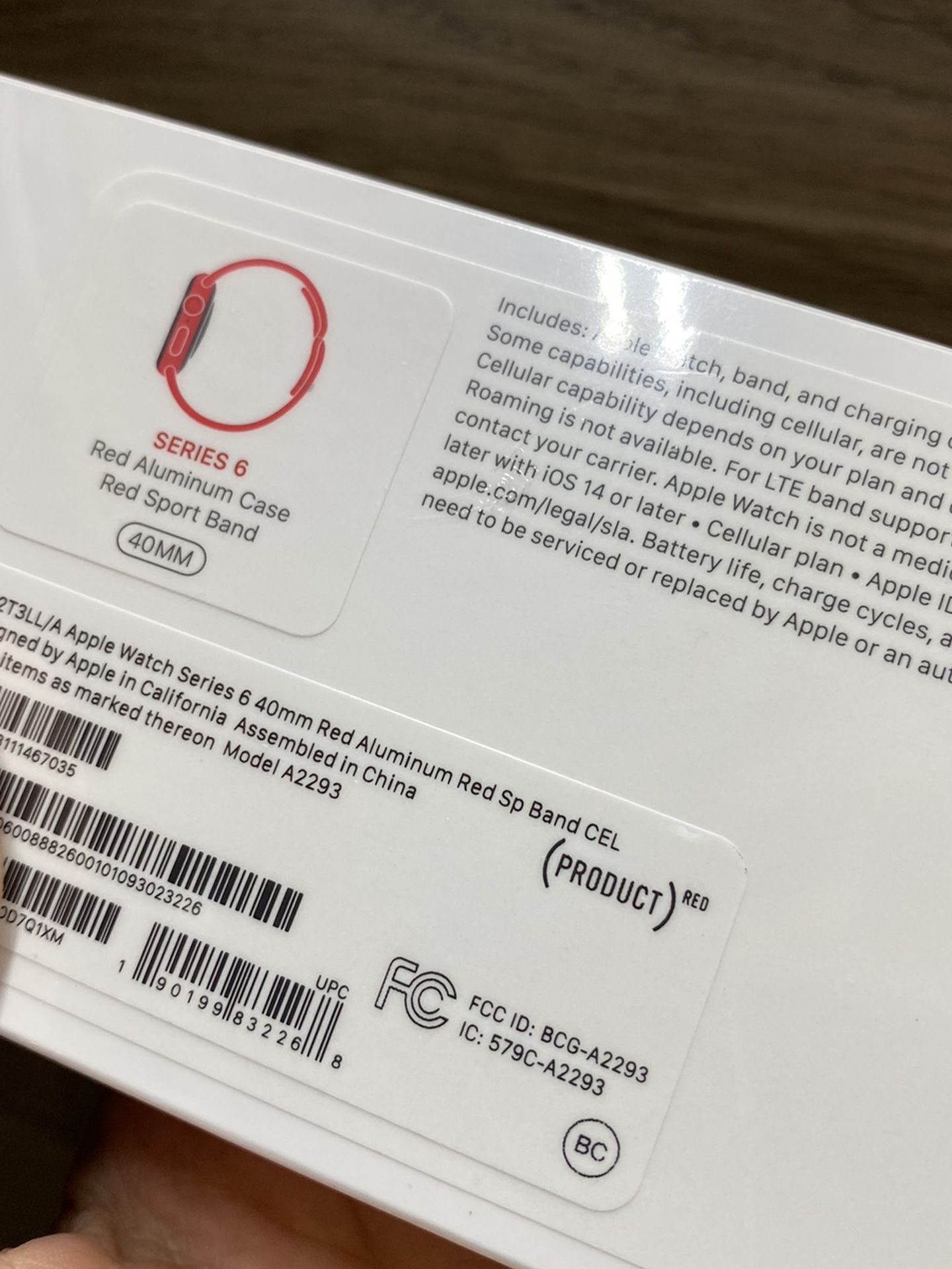 Apple Watch Series 6 40mm GPS And Cellular
