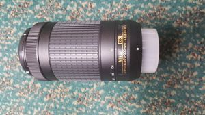 Nikon 70-300mm lens for camer BRAND NEW for Sale in Baltimore, MD