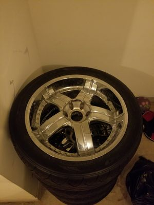 "22"" Rims TIS for Sale in Frederick, MD"