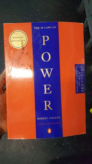 48 laws of power. Good condition for Sale in Queens, NY