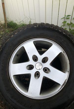 Car rims with tires for Sale in Alexandria, VA