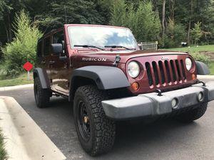 2007 Jeep Wrangler 117k for Sale in Adelphi, MD