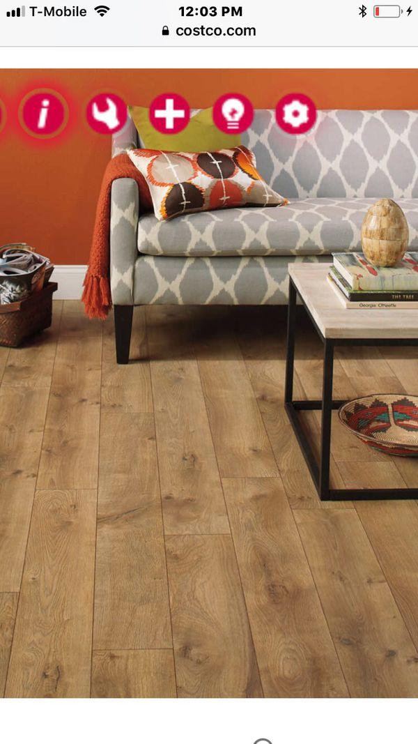 Laminate Flooring Harmonics Newport Oak Costco For Sale In Los