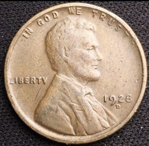 Photo 1928 D Lincoln Head Wheat Cent - Nice!