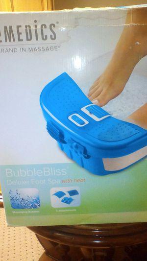 Homedics foot spa for Sale in Arlington, VA