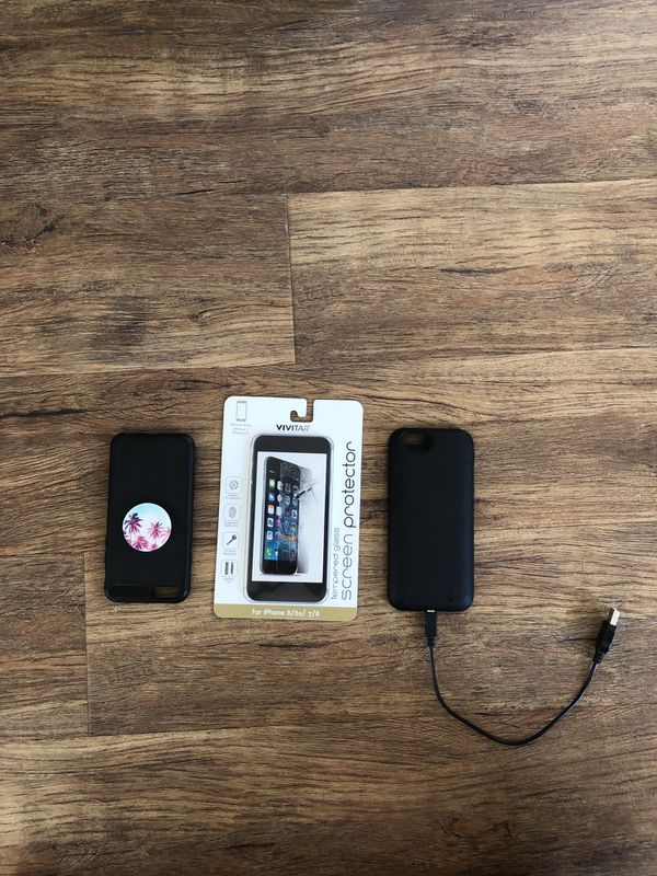 brand new c2ba3 a869d Iphone 6s phone case, pop socket, screen protector, mophie bundle for Sale  in Newport Beach, CA - OfferUp