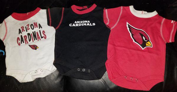 Arizona Cardinals onesies pajamas 3-6 months for Sale in Phoenix 7590f0e28