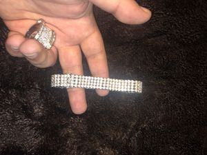 Men's White Gold Bracelet for Sale in Alexandria, VA