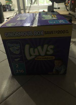 Unopened box diapers size 2 for Sale in Reston, VA