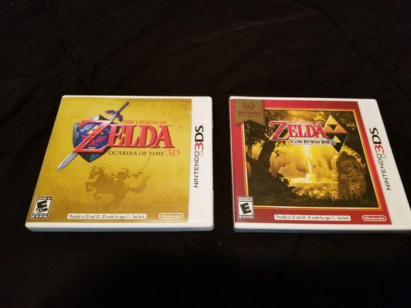 Legend of Zelda A Link Between Worlds/Ocarina Of Time 3DS & Phantom  Hourglass DS for Sale in Graham, WA - OfferUp