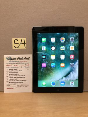 S4 - iPad 4 32GB Cell-VZ for Sale in Los Angeles, CA