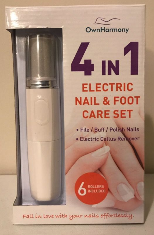 Electric Nail File System & Callus Remover (4 in 1) Best Pedi Tools ...