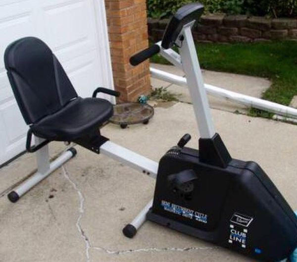 Pro Sport Fitness Semi Recumbent Cycle For Sale In
