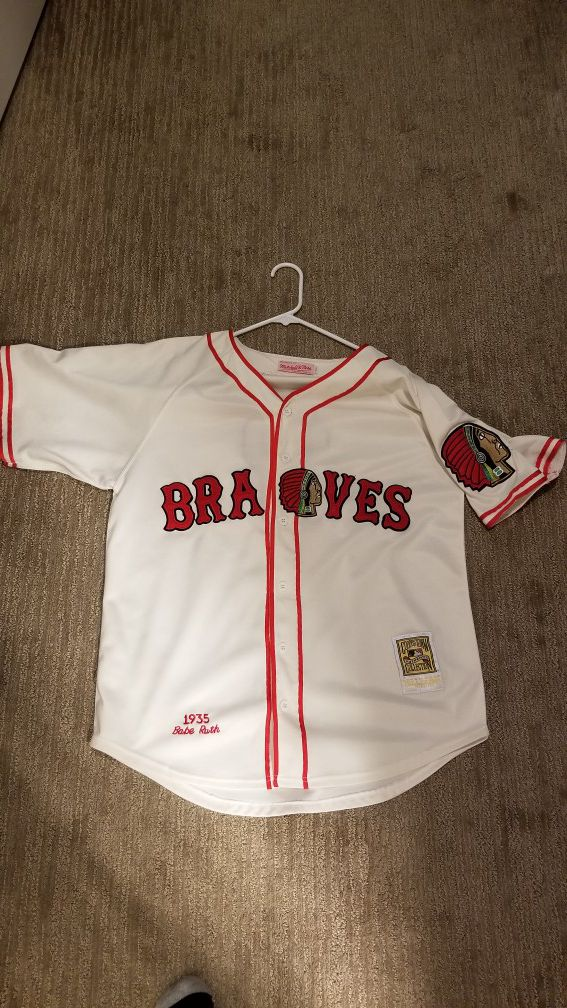 wholesale dealer ff03f 6752c Babe Ruth 1935 Boston Braves jersey for Sale in Eagan, MN - OfferUp