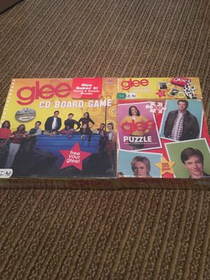 NEW GLEE BOARD GAME, card GAME AND PUZZLE for Sale in North Brunswick Township, NJ