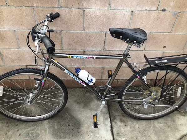 Vintage 1980s Schwinn Impact Mountain Bike Frme Set 4130
