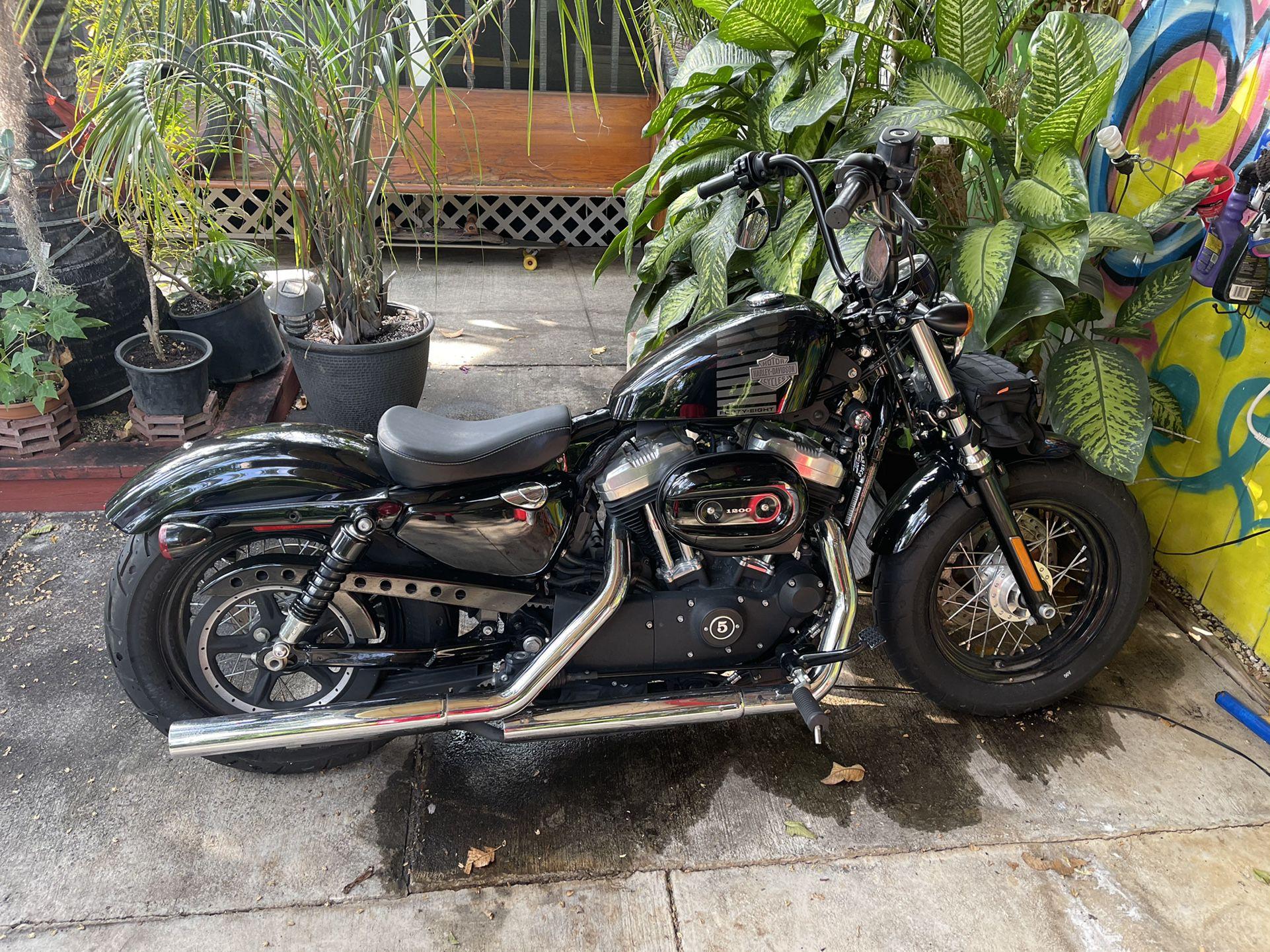 Photo 2015 Harley Davidson sportster 48