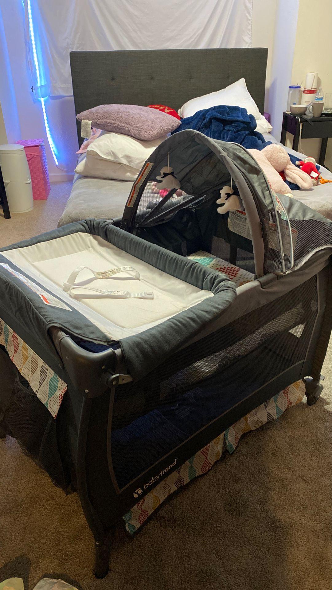 Baby Trend 2 Deluxe Nursery Center