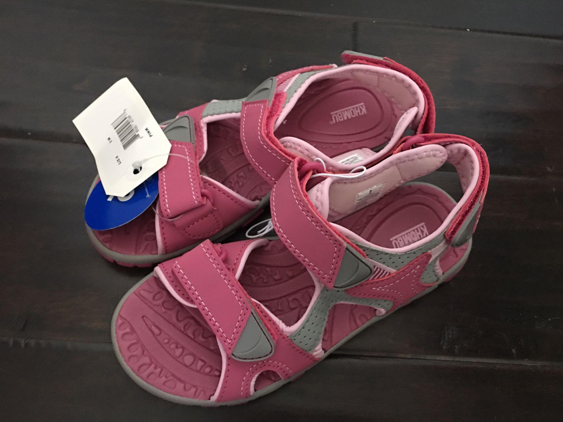 Khombu Girl's River Sandal - size 2