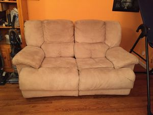 Recliners 2 in one, beige 43Dx70Lx43H for Sale in Fairfax, VA