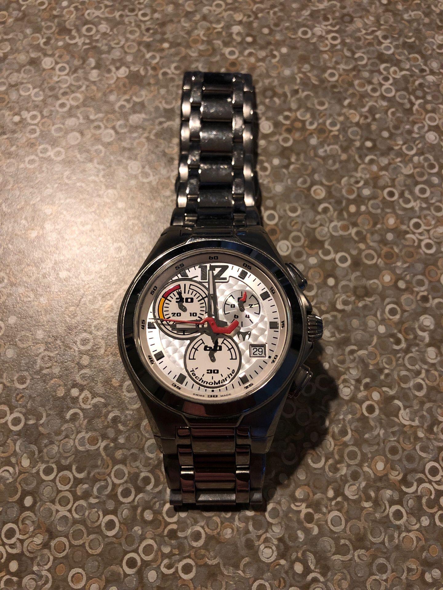 Reloj technomarine neo classic (original )