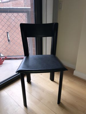 2 black multi-use chairs for Sale in Washington, DC