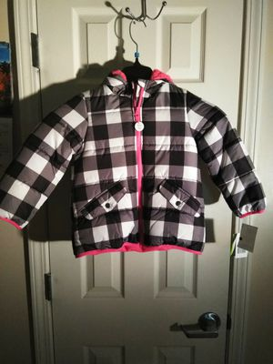 New Carter's (M) or 5-6 size girl coat for Sale in University City, MO