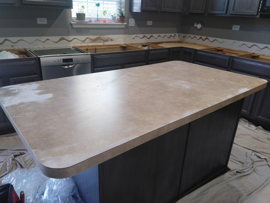 Kitchen Island formica top
