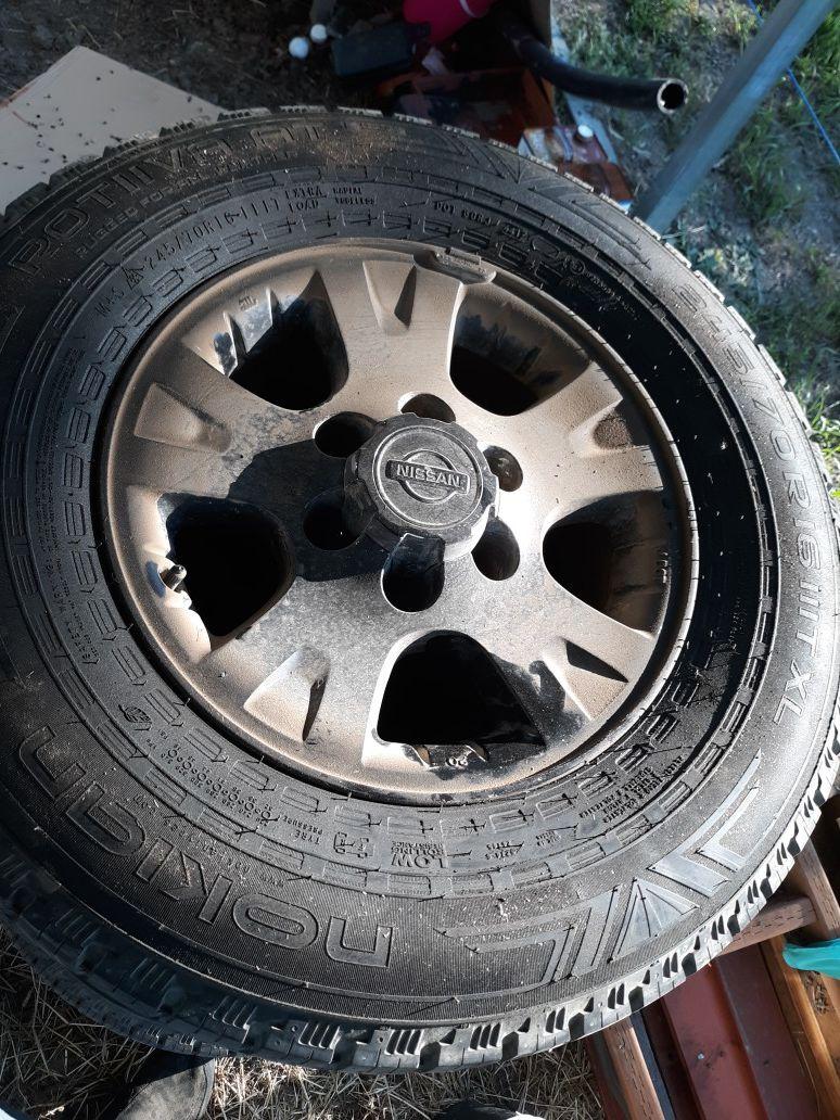 Original Nissan tires