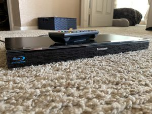 Photo Panasonic Blu-ray DVD Player W/ Remote