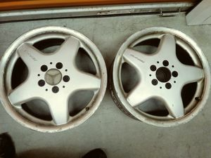 available...4 Mercedes AMG rims sizes front 225/45/17 & rear 245/40/17 for Sale in Boston, MA