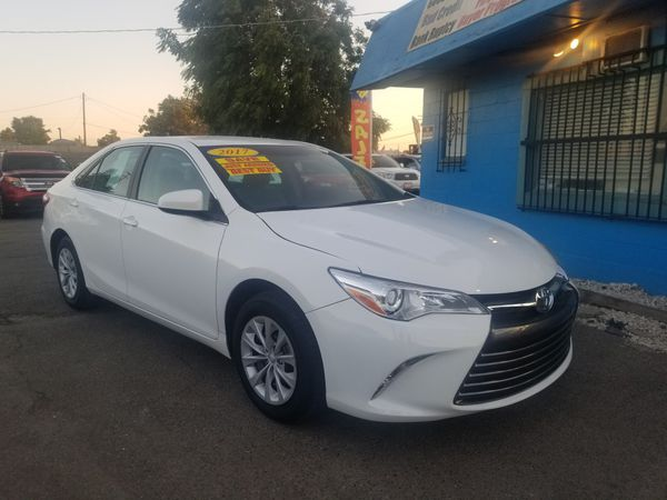 2017 Toyota Camry Le Automatic Transmission Star Auto S 514 Crowslanding Rd Easy Financing Options Available