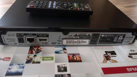 LG Blu-ray HDMI DVD Netflix player Thumbnail