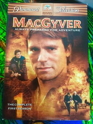 The Complete 1 st Season 6 DVD disc Movies / MacGyver Ready for Adventure 😎👍. 📀📀. 🎥🍿 for Sale in Alexandria, VA