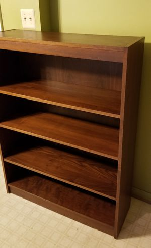 Mahogany Real Wood Book Shelf for Sale in Bowie, MD