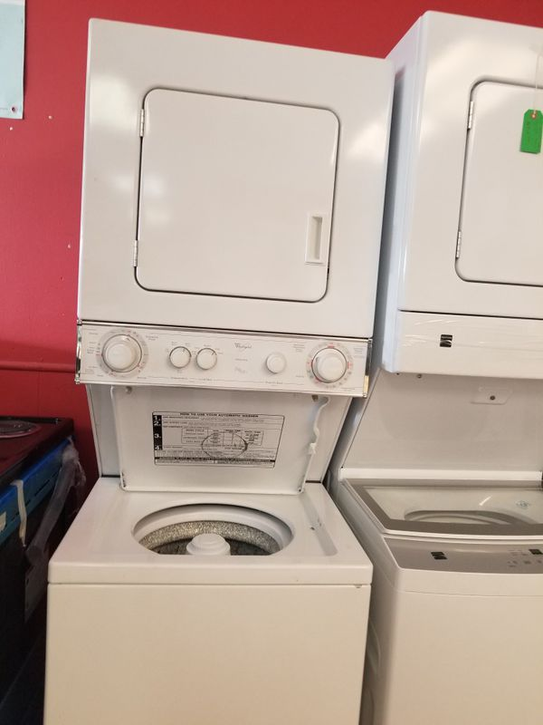 Whirlpool Apartment Size Stackable Washer And Dryer