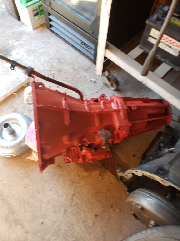 06 Jeep Libety transmission 5 plug