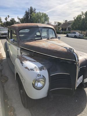 Photo Running driving registered 1940 Plymouth hot rat 327 Chevy rod
