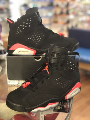 Black infrared 6s size 10 for Sale in Silver Spring, MD