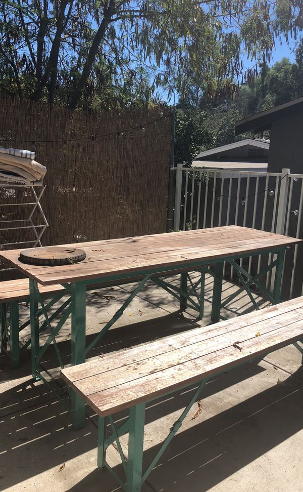 World Market Picnic Table For Sale In Los Angeles CA OfferUp - Picnic table los angeles