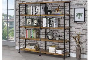 BOOKCASE ANTIQUE NUTMEG for Sale in Hialeah, FL