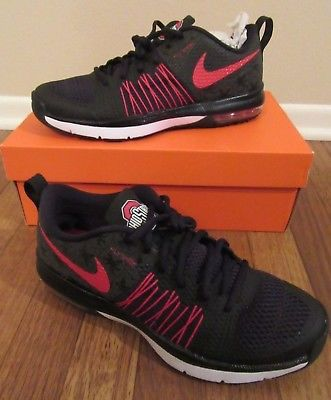 sports shoes a7547 61b38 NEW NIKE OHIO STATE BUCKEYES AIR MAX EFFORT TR DARK NIGHT SHOES