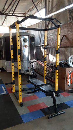 Photo Squat rack / Gym / Pesas / Weights / Bench press / Gymnasio / Power cage