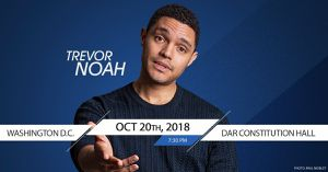 Trevor Noah October 20th show TWO tickets for Sale in Fairfax, VA