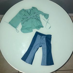 American Girl Doll Outfit - Bell Bottoms Set for Sale in Orlando, FL