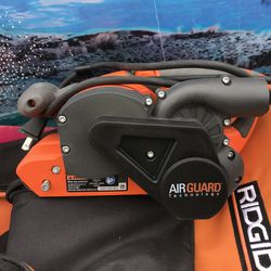 RIDGID 6.5 Amp Corded 3 in. x 18 in. Heavy-Duty Variable Speed Belt Sander with AIRGUARD Technology Thumbnail