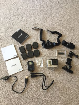 GoPro HERO3+ Black Edition Camera for Sale in Seattle, WA