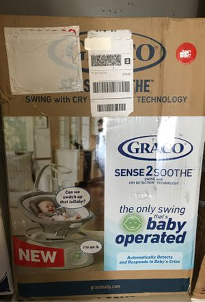 Photo Brand new baby swing Graco!